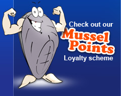 Earn Mussel Points when you buy